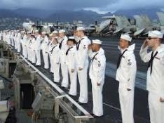 Image result for sailors saluting images