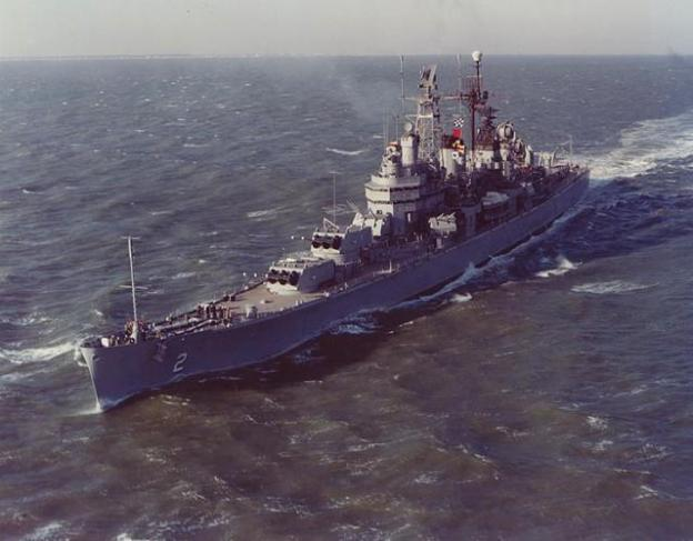 USS Canberra